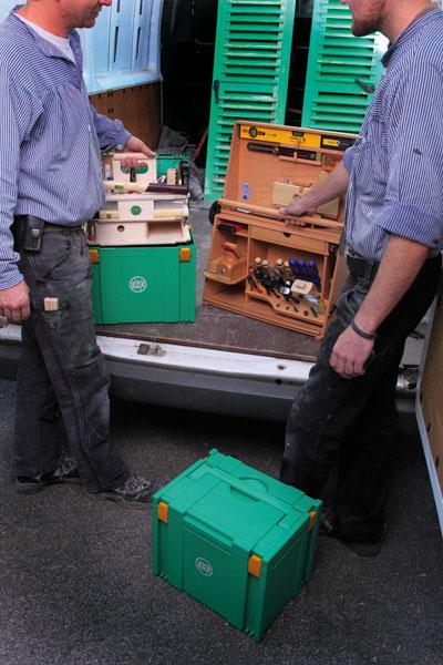 Werkzeugträger / Montageboxen